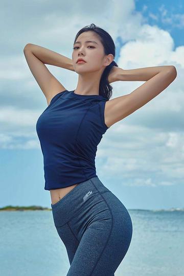 韩国健身女神美女图片