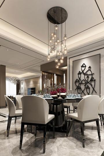梦幻美丽的餐厅吊灯设计