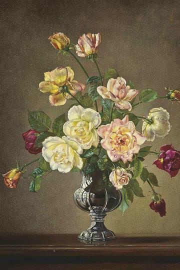 超美油画花卉作品欣赏