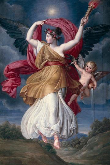 世界名画-欧美古典神话人物油画图片