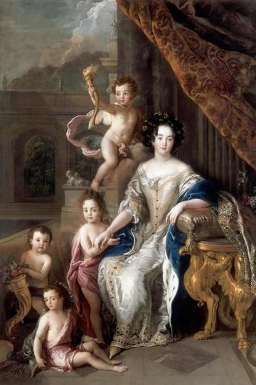 欧美宫廷人物油画作品欣赏