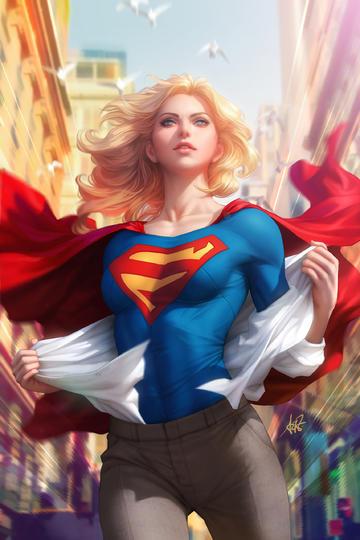女超人动漫科幻画美女图片