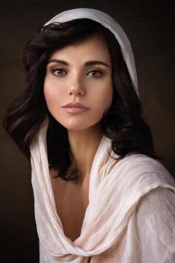 欧美清纯美女平面模特写真图片