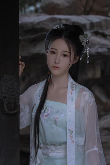 中国古典古装美女艺术写真图片