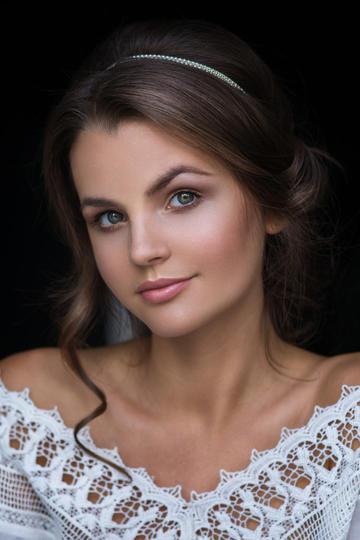 欧美可爱美女女生肖像艺术写真图片