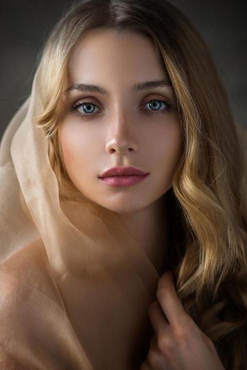 欧美美女高清头像艺术写真图片