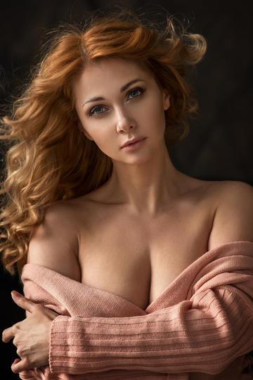 欧美美女头像写真图片