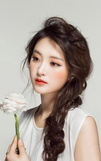 美女明星刘惠利艺术写真照
