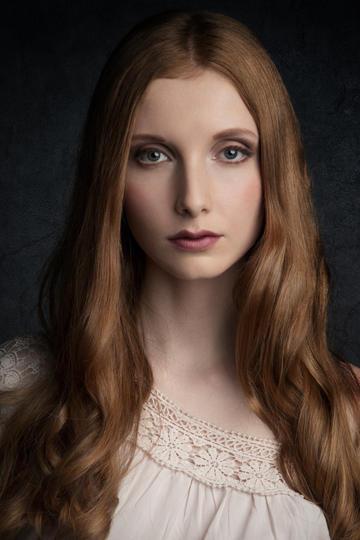 欧美女生美女肖像艺术摄影图片