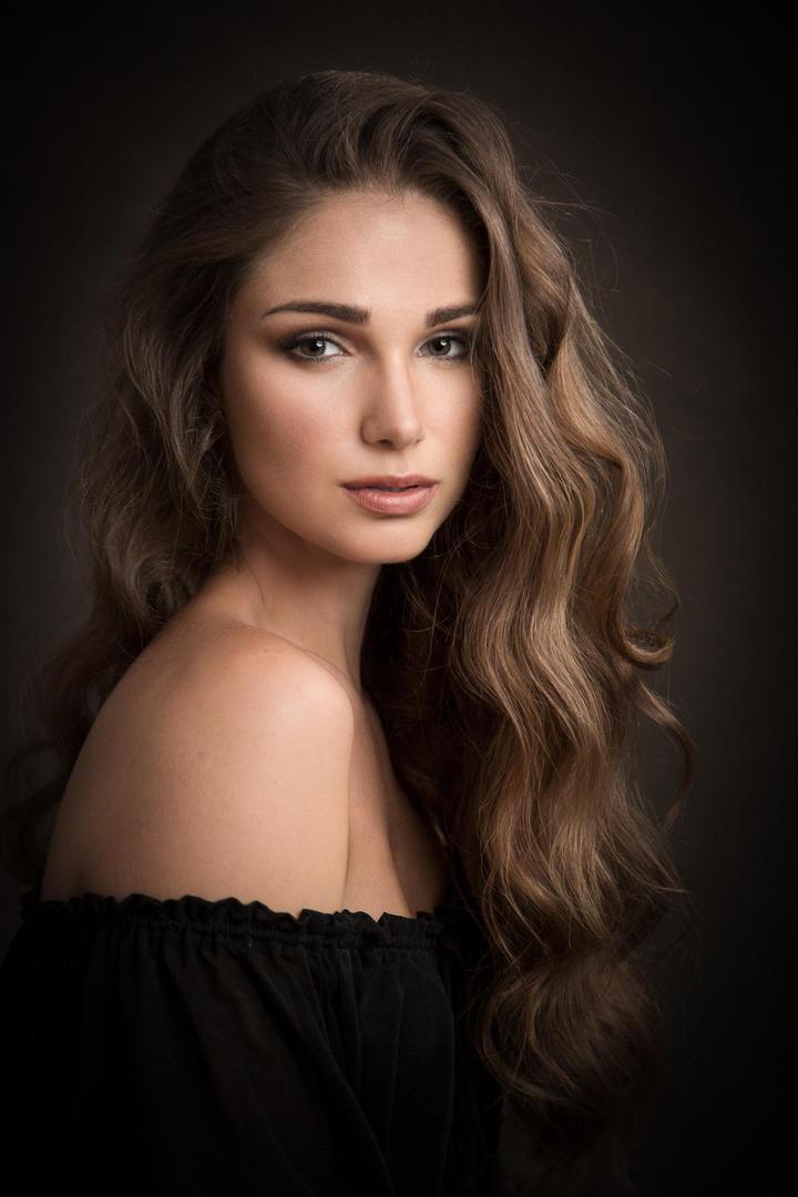 欧美美少女人物肖像艺术写真图片
