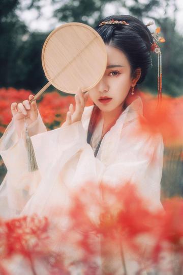 高清古装清纯美女写真图片