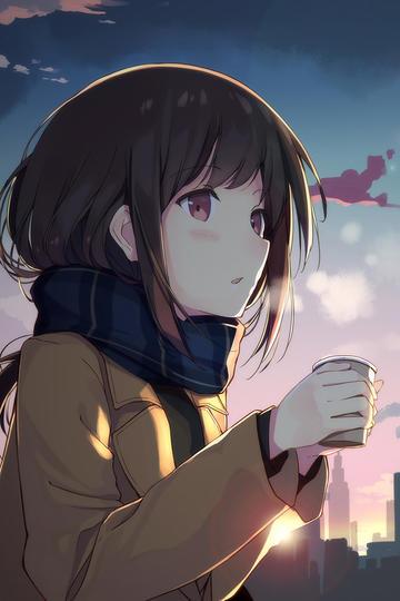 超高清日本女生动漫图片