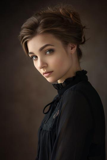 高清欧美美女艺术肖像图片
