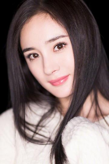 美女明星杨幂半身特写图片
