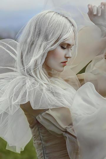 国外美女精灵人像艺术摄影