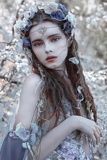 漂亮的气质美女艺术摄影图片