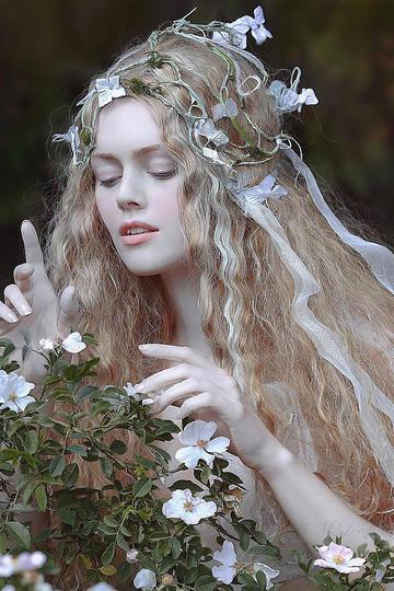 欧美童话艺术人像摄影