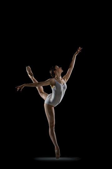 高难度舞蹈动作运动摄影