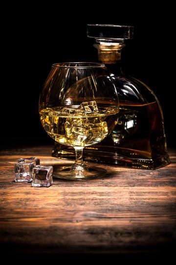 威士忌洋酒摄影图片