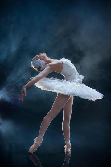 唯美芭蕾舞美女运动摄影图片