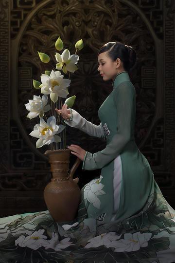 越南摄影师Duong Quoc Dinh镜头下的古典美女
