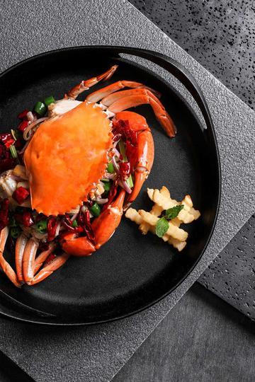 精致海鲜大餐图片