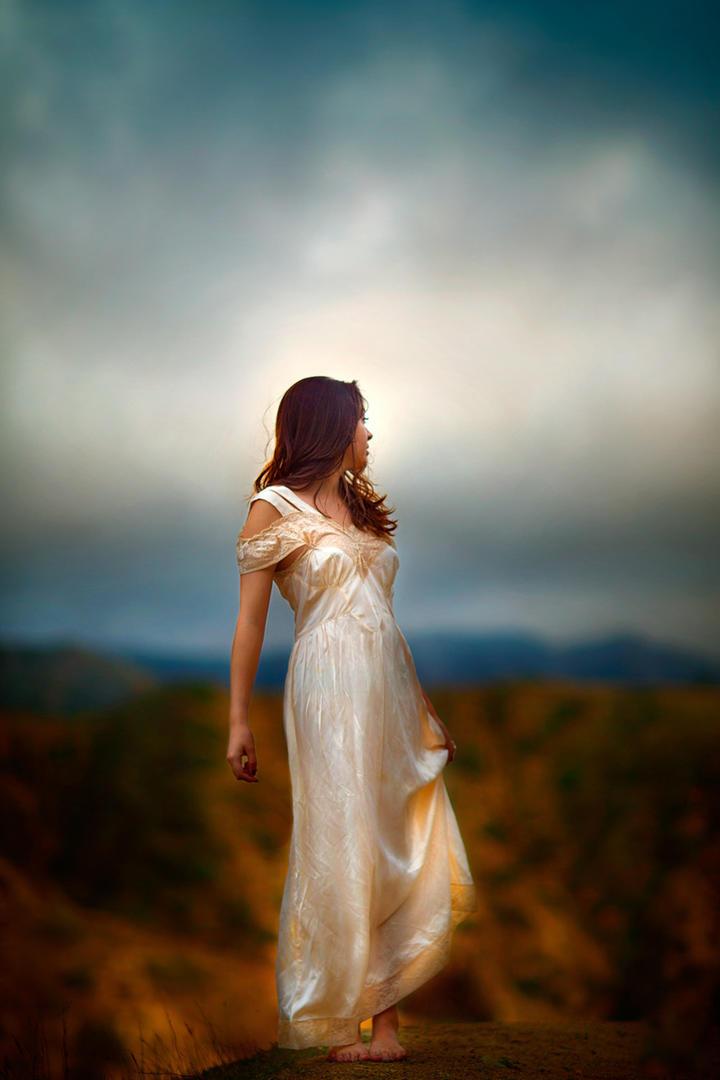 唯美女生风景艺术写真集