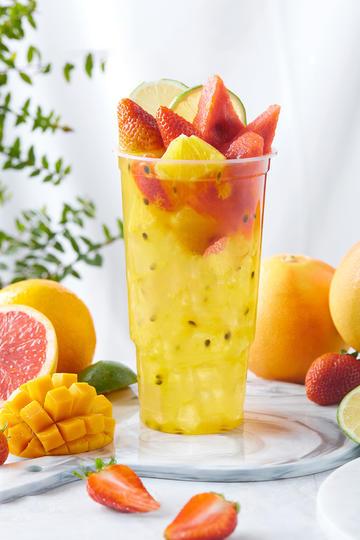 夏天冷饮美食奶茶果汁图片集