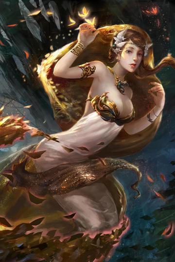 欧美美女精灵科幻画性感动漫美女图片
