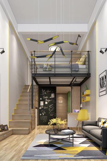 小公寓精装设计效果图