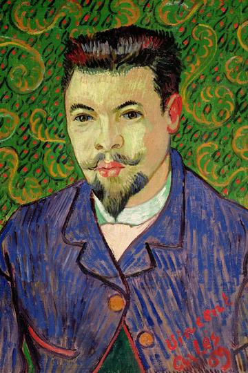 世界名画-梵高著名人物肖像油画作品集