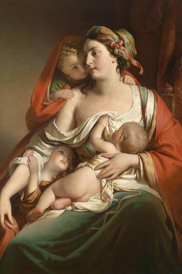 西方宫廷古典人物肖像油画绘画图片