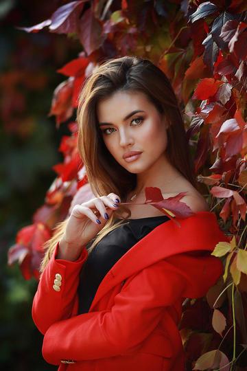 气质欧美美女艺术写真