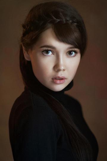 高清气质欧美美女肖像艺术写真
