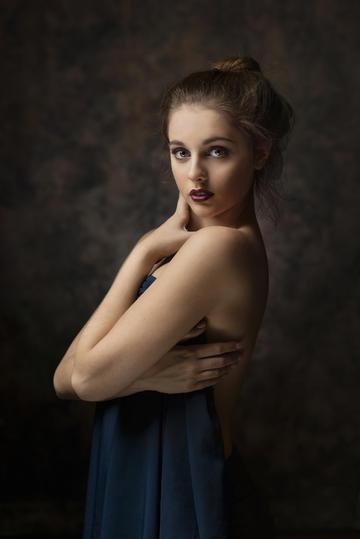欧美性感气质女生艺术写真