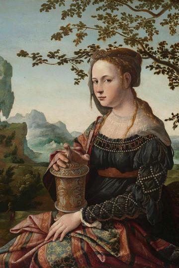 欧洲宫廷仕女古典人物肖像油画作品欣赏