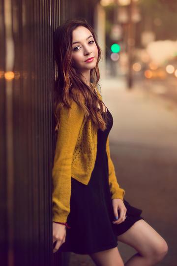 街拍气质欧美时尚美女图片