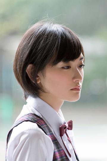 高清日本短发美女学生写真