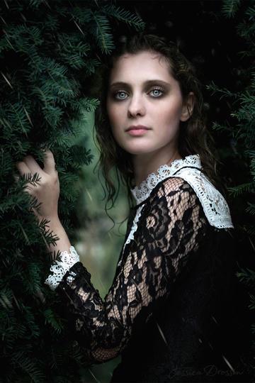 欧美气质美女艺术写真图片