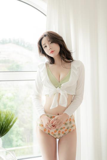 高清唯美韩国气质美女柳京图片