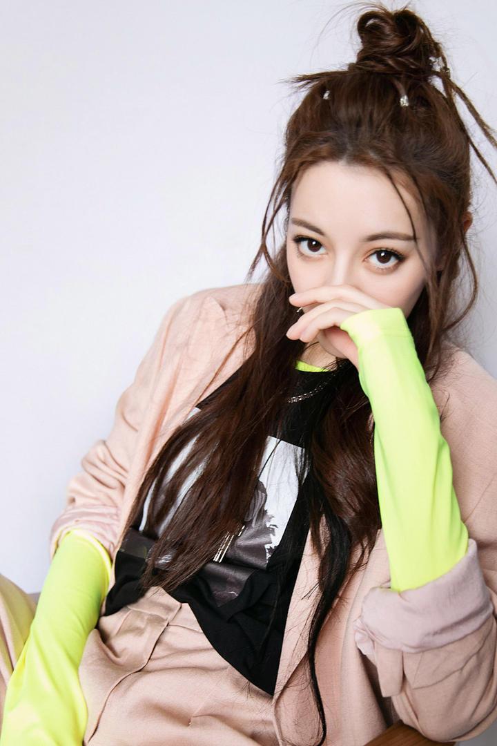 中国美女明星迪丽热巴图片集