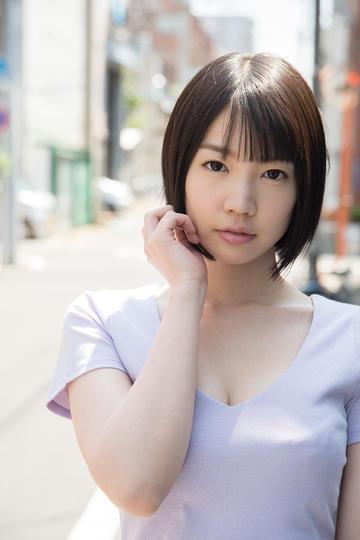高清日本清纯短发美女写真